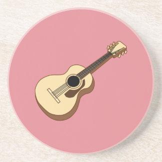 Akustikgitarrekunst Getränkeuntersetzer