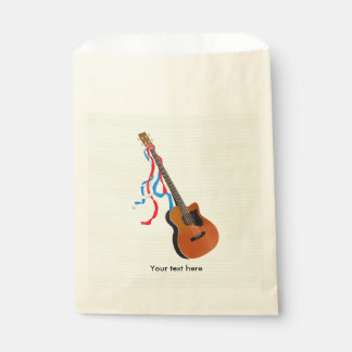 Akustische Bass-Gitarren-Amerikaner-Musik Geschenktütchen