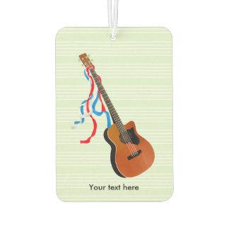 Akustische Bass-Gitarren-Amerikaner-Musik Lufterfrischer