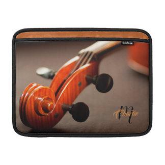 Akustische Cello-Monogramm-MacBook-Luft-Hülse MacBook Air Sleeve