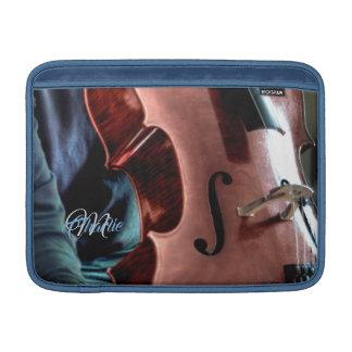 Akustische Cello-Spieler-MacBook-Luft-Hülse MacBook Air Sleeve