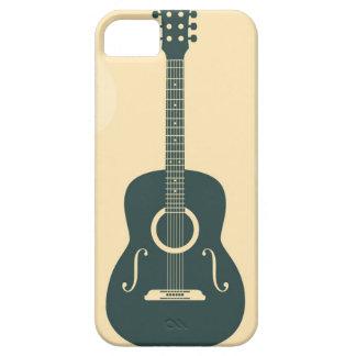 Akustische Musik der Retro Gitarre Barely There iPhone 5 Hülle
