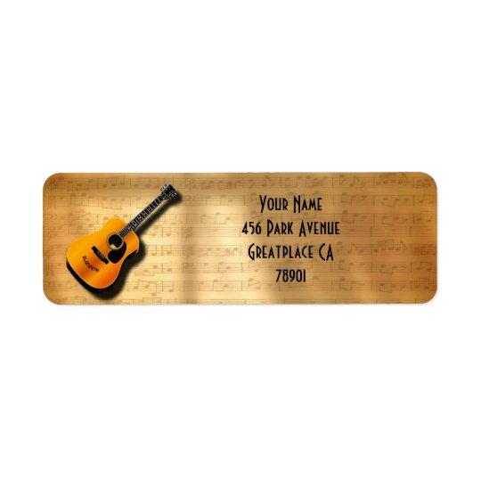 Akustische Vintage Gitarre mit