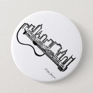 Akustischer Skyline-Knopf Runder Button 7,6 Cm