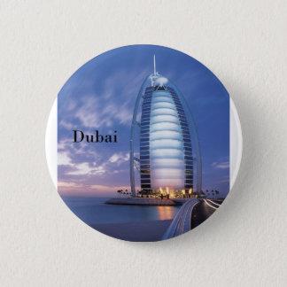 Al-arabisches Hotel Dubais Burj (durch St.K) Runder Button 5,7 Cm