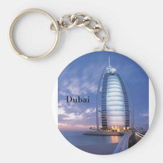Al-arabisches Hotel Dubais Burj (durch St.K) Standard Runder Schlüsselanhänger