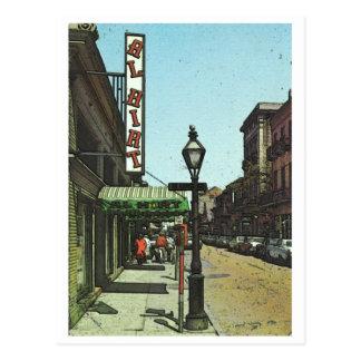 Al Hirts Jazz-Club Postkarte