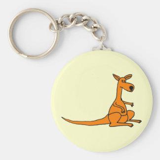 AL lustiger Känguru Keychain Schlüsselanhänger