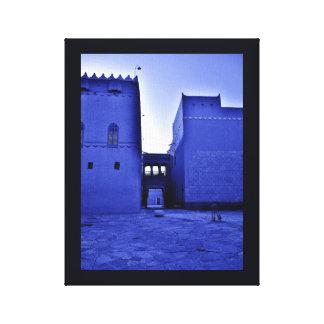 Al-Murabba-Palast Leinwanddruck