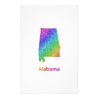 Alabama Briefpapier