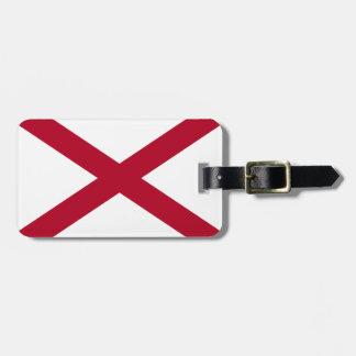 ALABAMA-FLAGGE GEPÄCKANHÄNGER