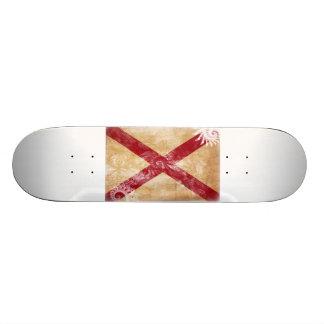 Alabama-Flagge Skate Board