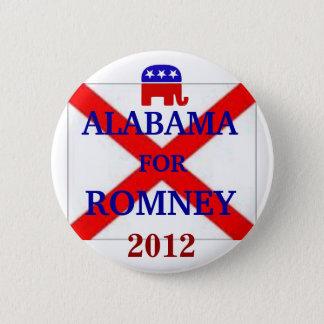 ALABAMA für Romney 2012 Runder Button 5,1 Cm