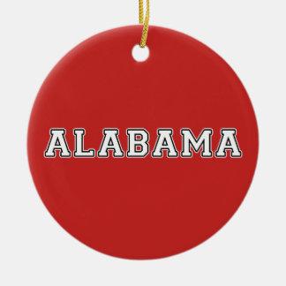 Alabama Keramik Ornament