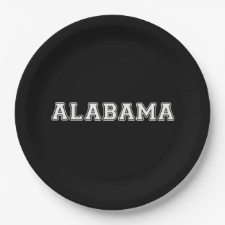 Alabama Pappteller