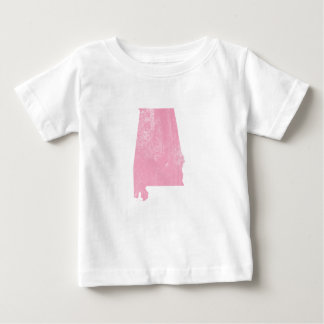 Alabama - rosa Vintager Grunge Baby T-shirt
