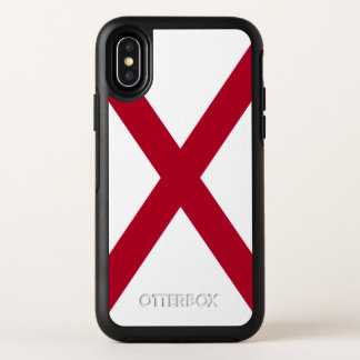 Alabama-Staats-Flagge OtterBox Symmetry iPhone X Hülle