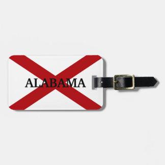 Alabama-Staats-Flaggen-kundenspezifischer Gepäckanhänger