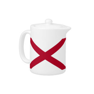 Alabama-Staats-Flaggen-Teekanne