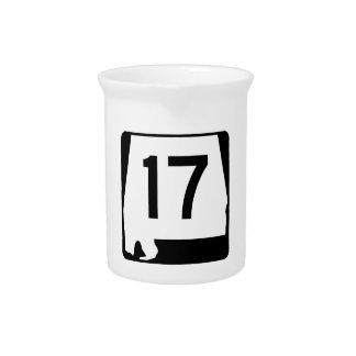 Alabama-Staats-Weg 17 Getränke Pitcher