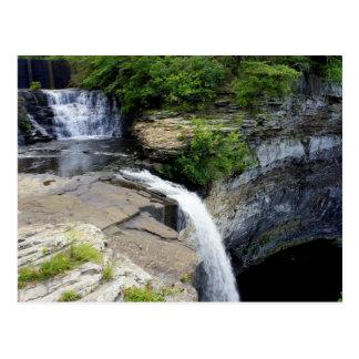 Alabama-Wasserfall Postkarte