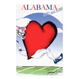 Alabamahauptherz, tony fernandes briefpapier