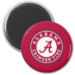 Alabamaprimärkennzeichen - Rot Kühlschrankmagnete