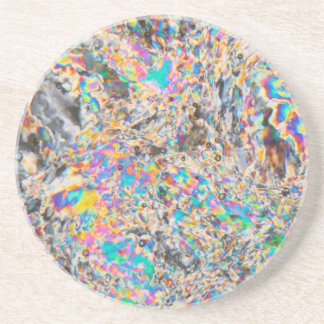 Alabaster-Mikrograph Untersetzer