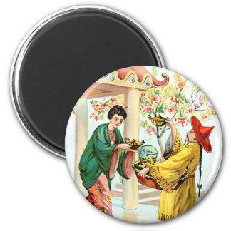 Aladdins Lampe Runder Magnet 5,1 Cm