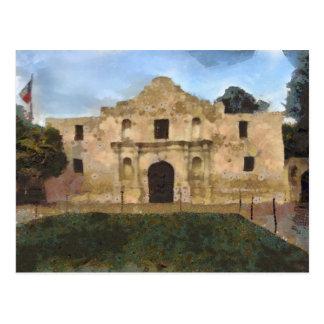 Alamo-Rasen Postkarte