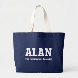 Alan - der inkompetente Terrorist Jumbo Stoffbeutel
