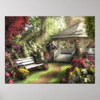 """Alan Giana """"Garten des hellen"""" Plakats Poster"""