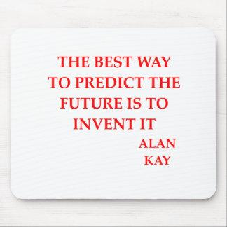 Alan Kay Zitat Mousepads