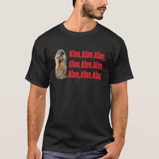 Alan-T2 - Schwarzes T-Shirt