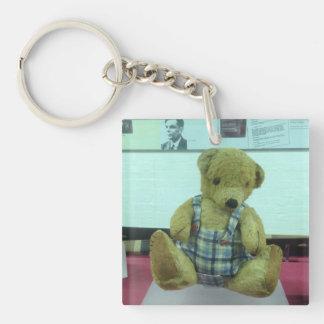 Alan Turings Teddybär Schlüsselanhänger