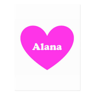 Alana Postkarte