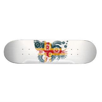Aland Flagge Skateboard Deck