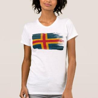 Aland Flagge T-Shirt