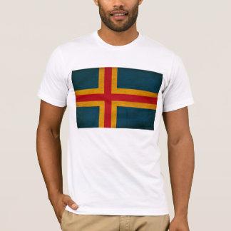 Aland Flaggen-T - Shirt