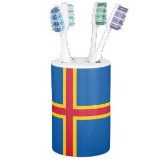 Aland Insel-Flagge Badezimmer-Set