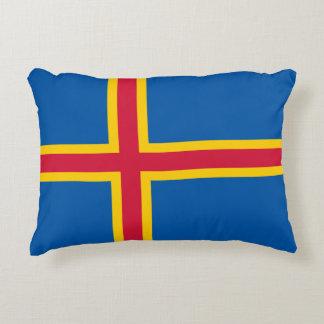 Aland Insel-Flagge Dekokissen