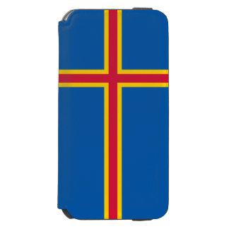 Aland Insel-Flagge Incipio Watson™ iPhone 6 Geldbörsen Hülle