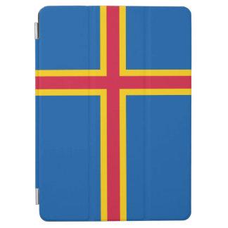 Aland Insel-Flagge iPad Air Cover
