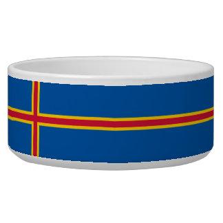 Aland Insel-Flagge Napf