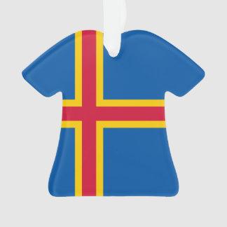 Aland Insel-Flagge Ornament