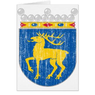 Aland Wappen Karte