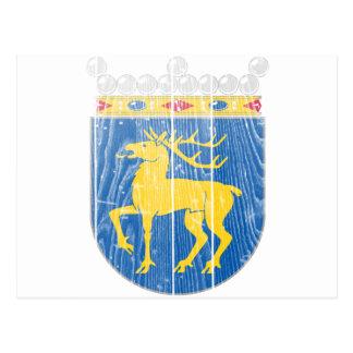 Aland Wappen Postkarte