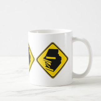 Alarm: Bücher voran! Kaffeetasse