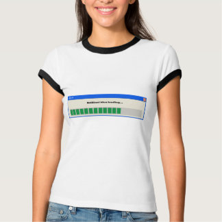 Alarm: Glänzende ladende Idee… T-Shirt