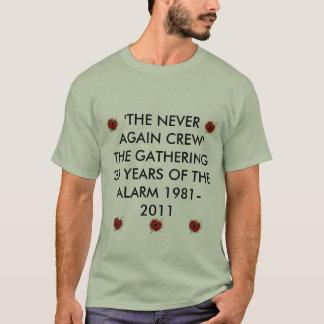 Alarmieren Sie Mohnblume, Warnungsmohnblume, T-Shirt